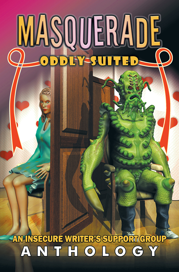 Official cover art for Masquerade Oddly Suited
